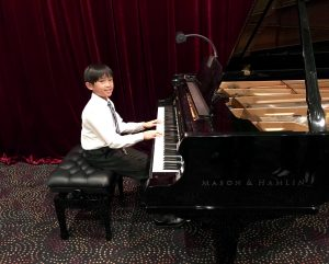 Pasitmes for a Lifetime piano student, Ryan B.