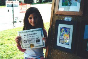 Isabella Rosner 2002 Student Art Showcase