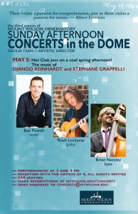 2019 May 5 Concerts in the Dome