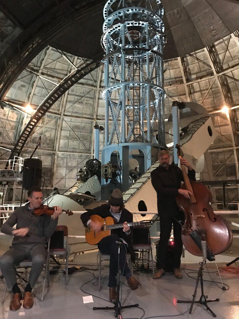 Ben Powell, Violin, Roch Lockyear, Guitar, Brian Netzley, Bass