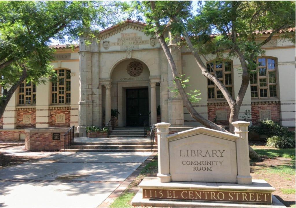 South Pasadena Public Library Community Room
