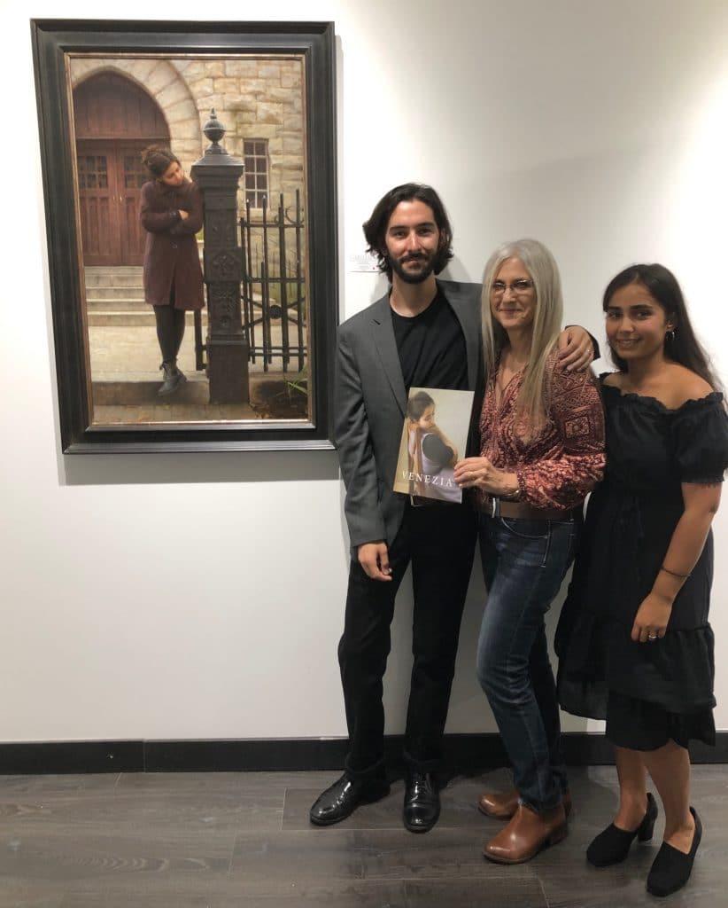 Alex J. Venezia, Linda Wehrli and his Model