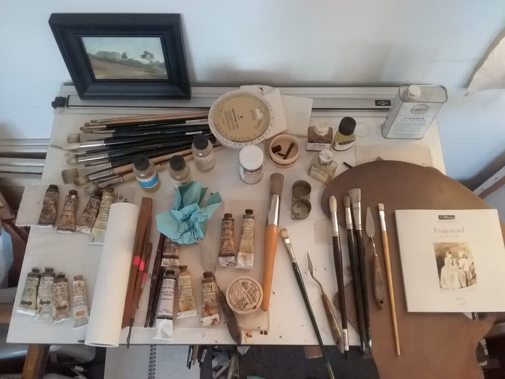 Curtis Green's Studio Setup