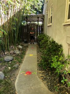 Pastimes, sidewalk chalk art
