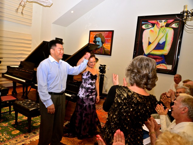 Album Release Pastimes mentions the 2010 duet performed by Dr. Rufus Choi and Yana Reznik.