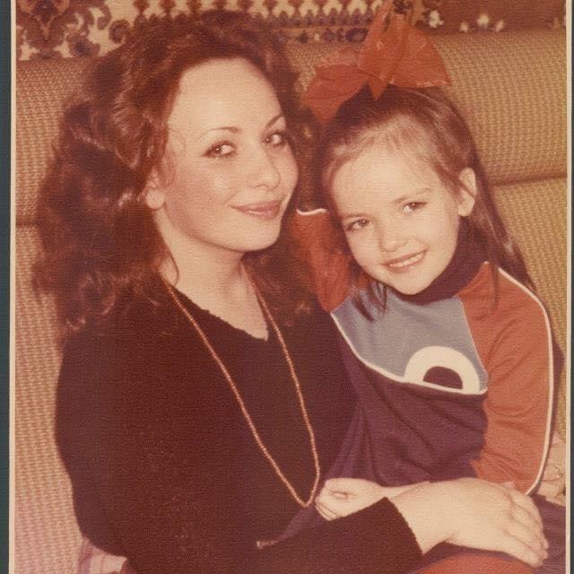 Album Release Blog - Yana Reznik with her mom