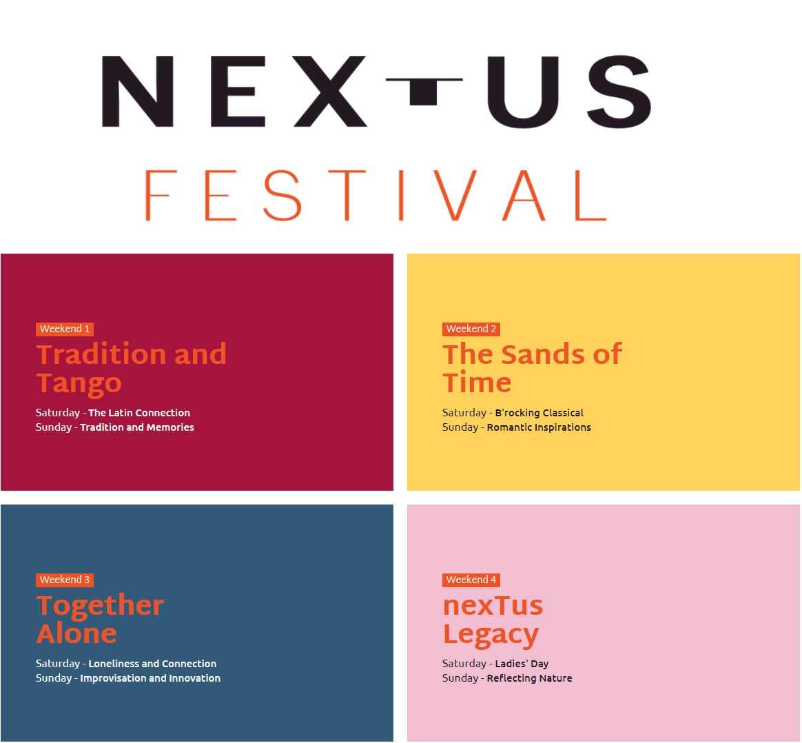 Pastimes for a Lifetime covers the Nextus program