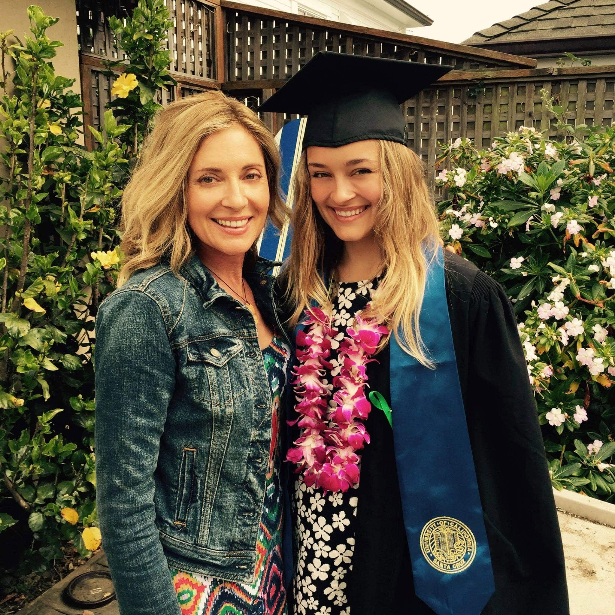 Taylor McLeod graduated from UC Santa Cruz