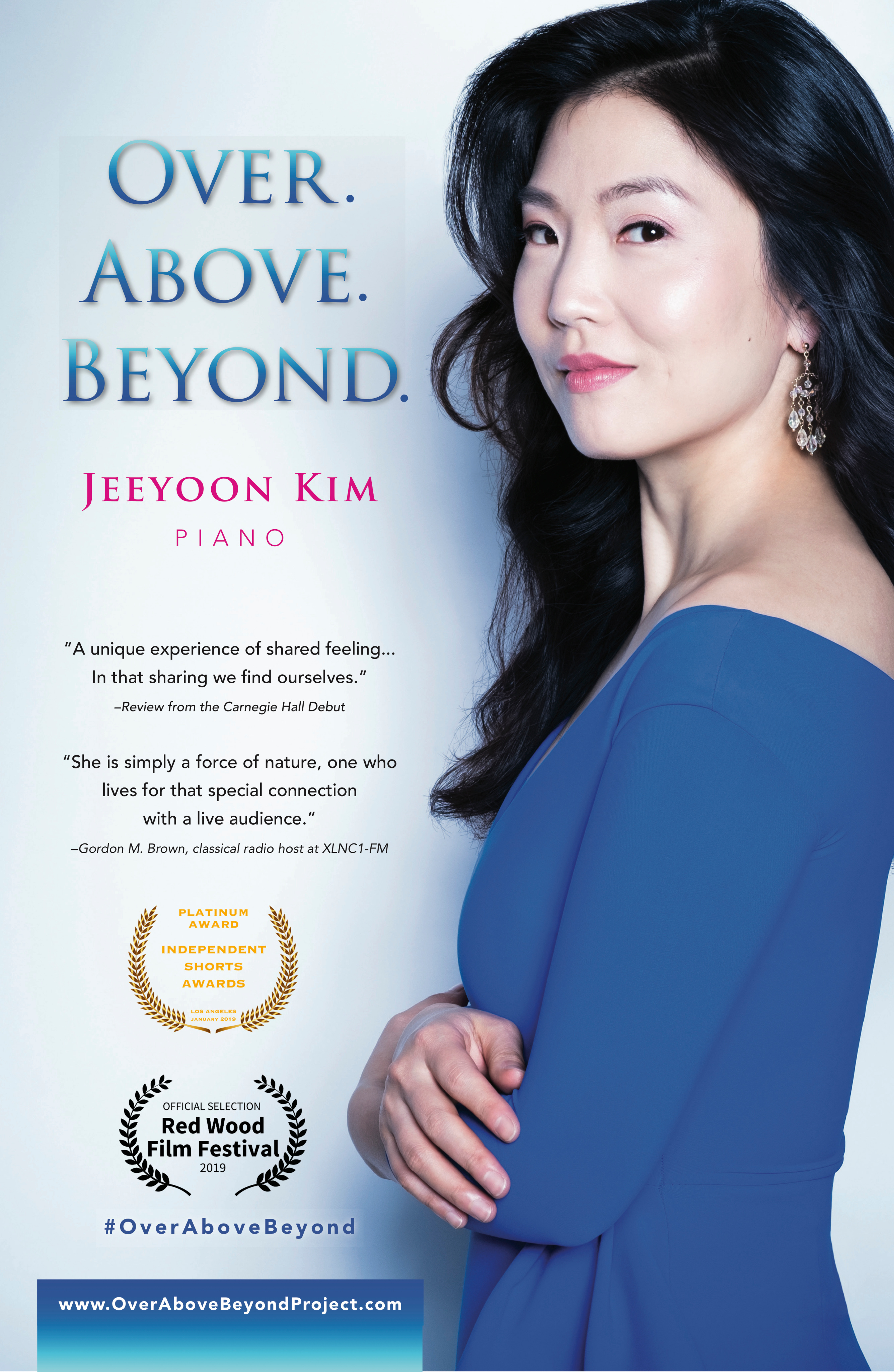 Jeeyoon Kim discusses her Over.Above.Beyond CD with Pastimes for a Lifetime
