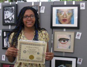 Maya Krueger 2011 Pastimes for a Lifetime Student Art Show