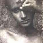 """CASEY BAUGH - """"Two Hundred Words"""" - Charcoal on Paper 18 x 14 inches"""