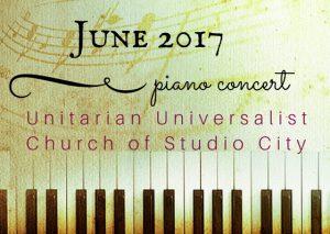 June 2017 Concert, Pastimes for a Lifetime