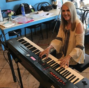 Linda Wehrli at the Keyboard, Artisan Cheese Gallery Student Concert