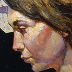 """Embodiment No. 11"" Portrait Close-up, Denis Sarazhin"