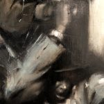 "Adam Vinson - ""Electric Avenue"" - Oil on Panel - 26 x 24 inches"