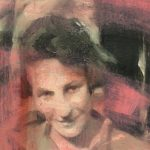 "Adam Vinson - ""Madeliene"" - Oil on Panel - 9 x 5 inches"