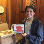 Pastimes for a Lifetime student, Ariel S. donates a Doodle