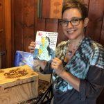 Pastimes for a Lifetime mom of student, Deborah B. donates a doodle.