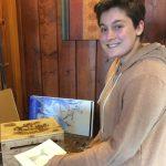 Pastimes for a Lifetime student, Evie L. donates a Doodle