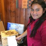 Pastimes for a Lifetime student, Jazmine L. donates a Doodle