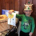 Pastimes for a Lifetime student Malakai donates a doodle