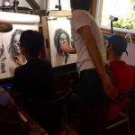 Zin Lim Workshop at Pastimes for a Lifetime