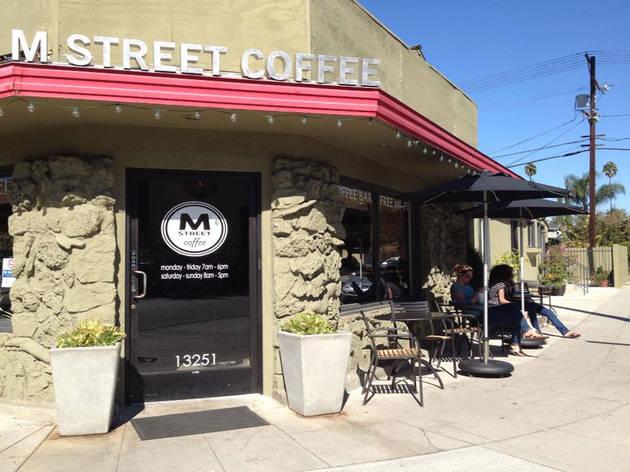 M Street Coffee Exterior