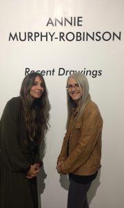 Annie Murphy Robinson and Linda Wehrli