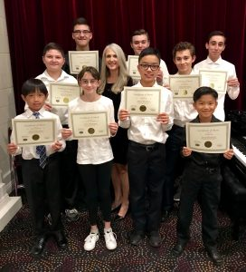 Pastimes for a Lifetime 2018 Fall Student Piano Concert