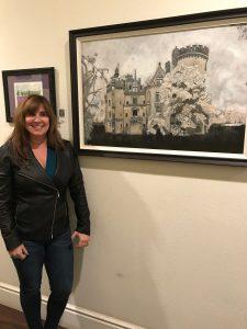 Barbara R. Castle Acrylic on Canvas Board