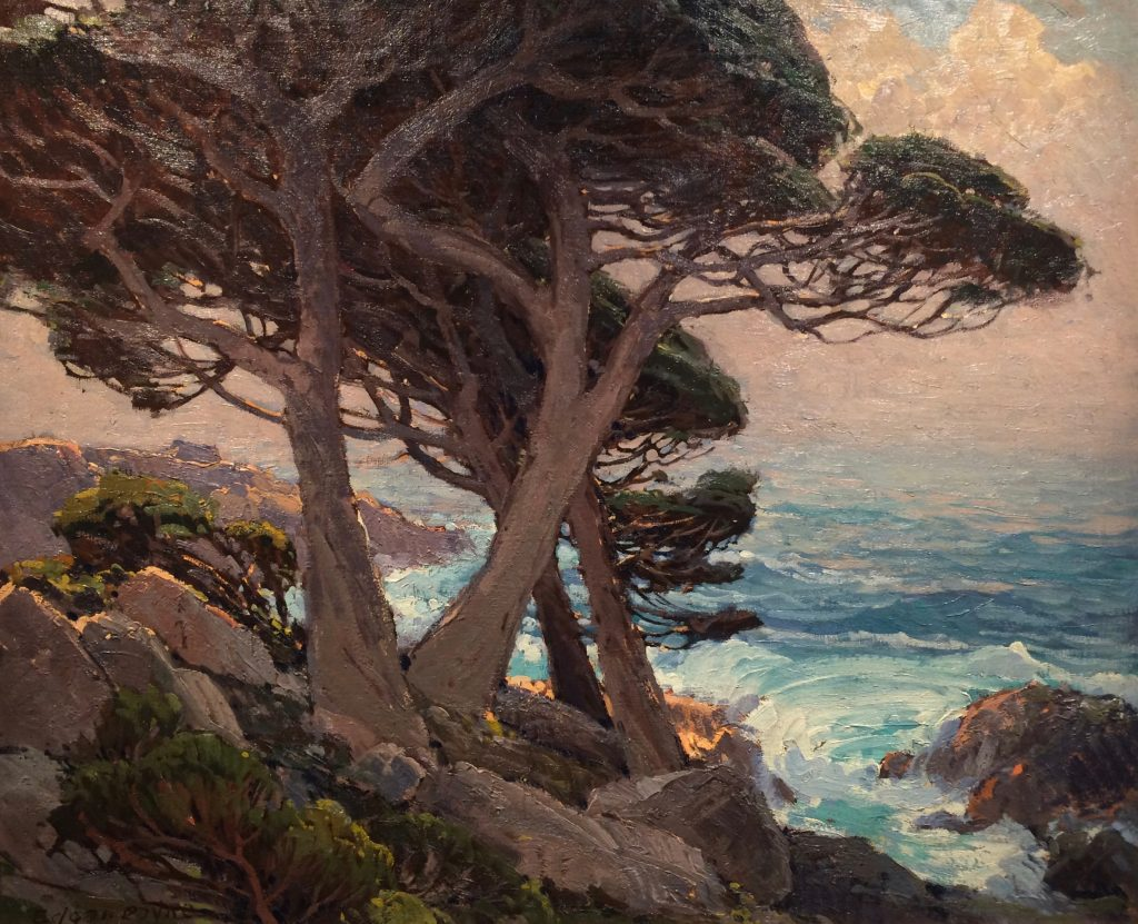 "Edgar Payne ""Sentinels of the Coast"" 1921 Oil"