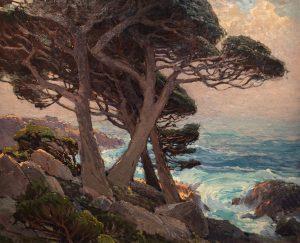"Edgar Payne ""Sentinels of the Coast"" 1921 Oil"