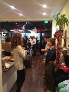 2018 Daphne's Desserts Gallery Opening Party