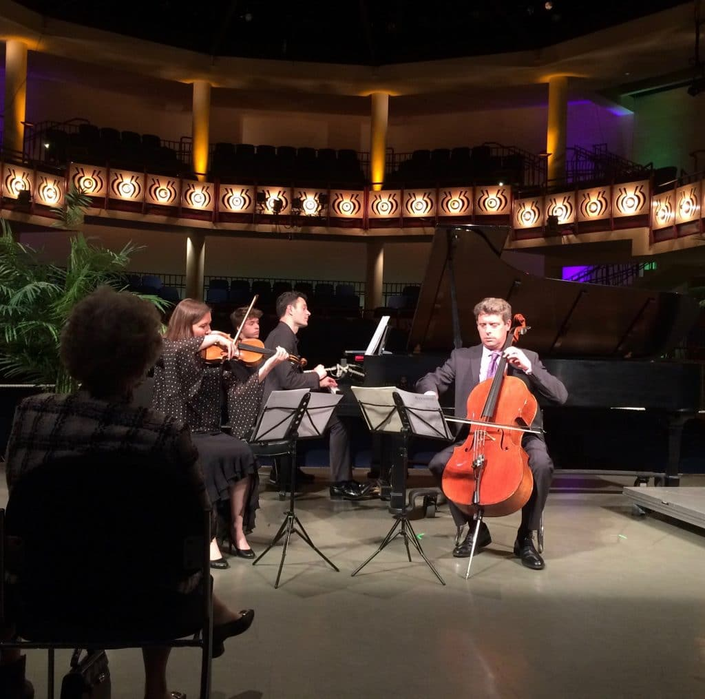 """The Felici Piano Trio performs """"Big Sky"""" by Joan Tower"""