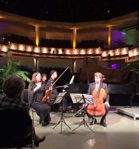 """Rebecca Hang introduces the """"Piano Trio in F Minor, Opus 65"""" by Antonin Dvorák"""