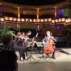 """The Felici Piano Trio performs the """"Piano Trio in F Minor, Opus 65"""" by Antonin Dvorák"""