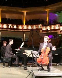 Brian Schuldt introduces the Mendelssohn Sonata for Cello and piano in D Major, Opus 58