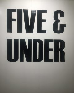 Five and Under, Arcadia Contemporary