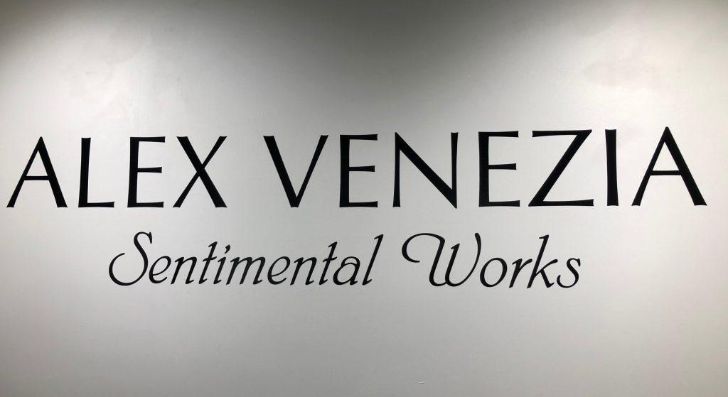 Alex Venezia Sentimental Works at Arcadia Contemporary