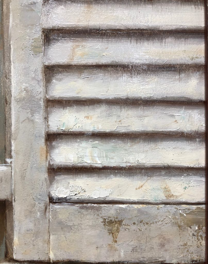 At the Window, Oil on Panel by Alex J. Venezia