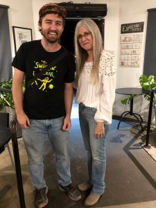 Illustrator Kevin Church attended the 2019 Fall Student Art Showcase Gallery Opening Party at M Street Coffee