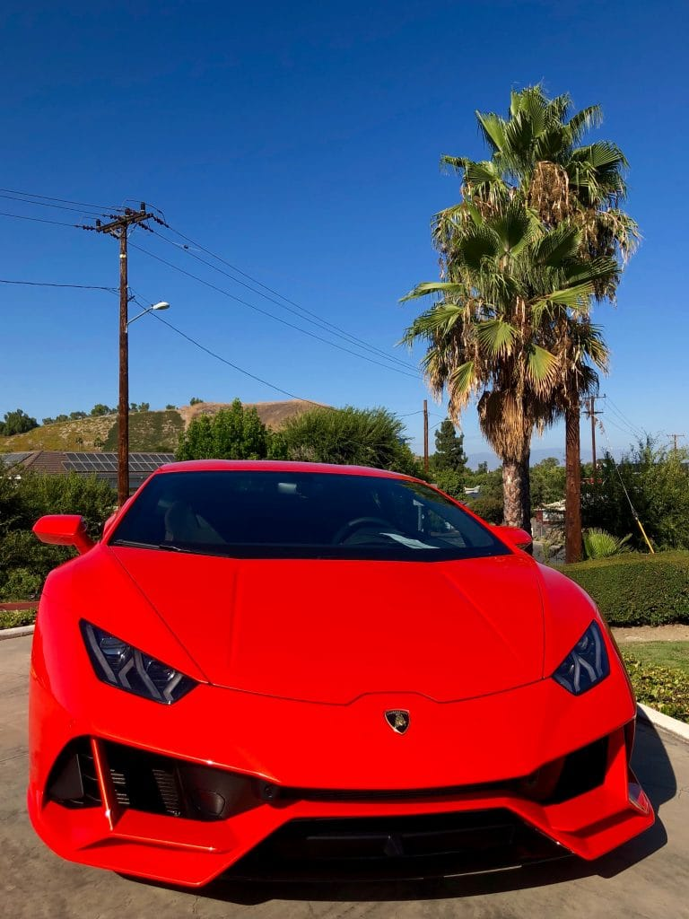 Red Lamborghini