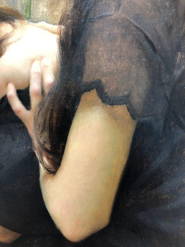 Solace, Oil on Panel by Alex J. Venezia