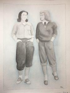 Sophia Atom Hagobian's Watercolor Fashion Tone Study
