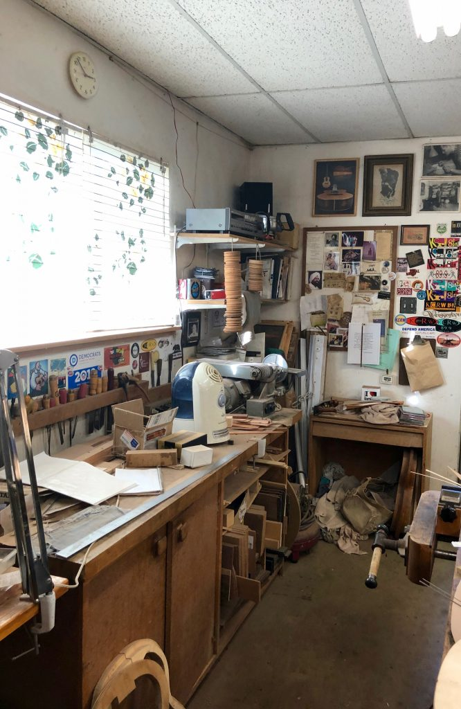 Greg Brandt's Guitar Building Studio