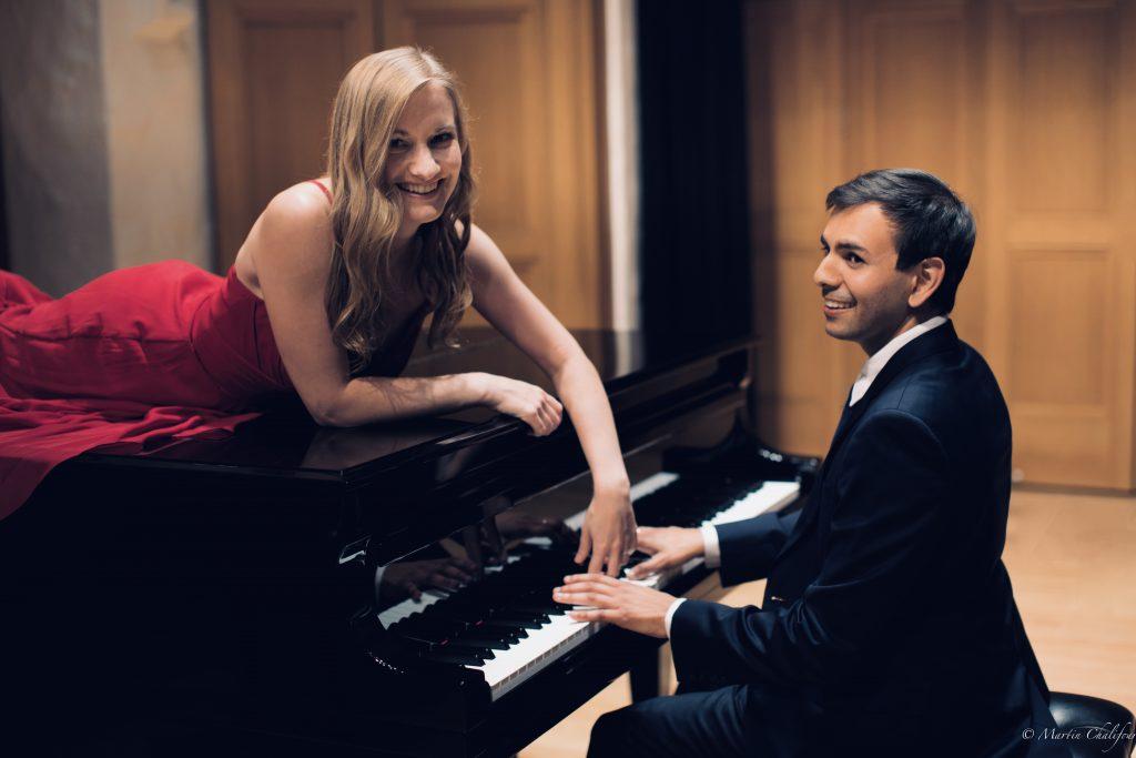 Eva Schaumkell and Vijay Venkatesh, The Vieness Duo