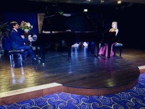 Pianists Eva Schaumkell and Vijay Venkatesh play 2 pianos.