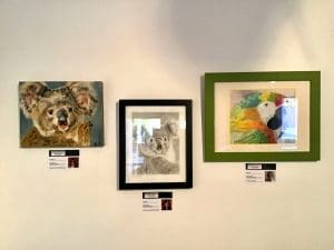 Pastimes for a Lifetime art students exhibit at the M Street Coffee Virtual Gallery 2020