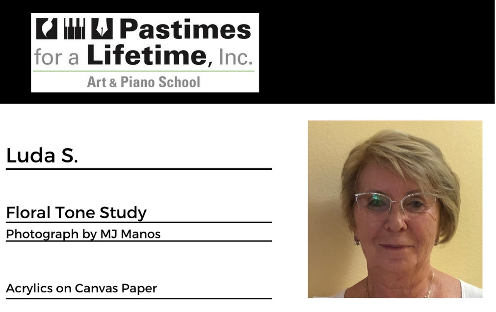 Luda S., student art exhibitor, Pastimes for a Lifetime 2020 Virtual Gallery, M Street Coffee