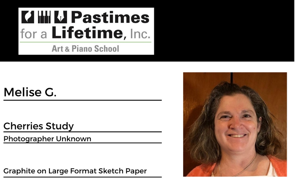 Melise G., student art exhibitor, Pastimes for a Lifetime 2020 Virtual Gallery, M Street Coffee